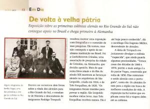 Revista História da Biblioteca Nacional, ed. março de 2011.