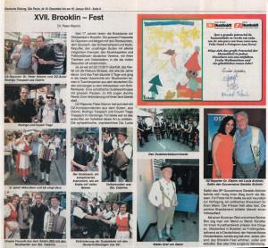 Brooklinfest matéria do Deutsche Zeitung.