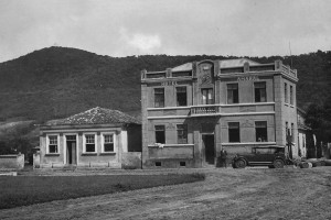 O Hotel Amaral, no final da década de 1920.