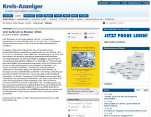 Kreis-Anzeiger 25.10.2012.