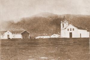 Igreja Matriz da então Conceição do Arroio (Osório), no final do século 19. APASF.