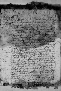 Casamento de Antônio Adolfo Charão, em 9 de julho de 1758.