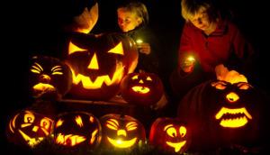 Vorbereitung auf Halloween