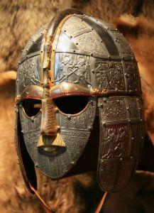Máscara de um guerreiro anglo-saxão