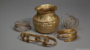 Peças da Idade do Bronze. Foto: DW