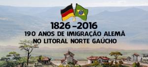190 Anos de Imigração Alemã no Litoral Norte Gaúcho