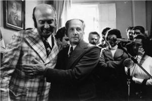 Posse de Jorge Dariva em 2 de julho de 1975.