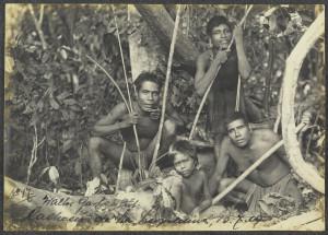 Walter Garbe. Índios Botocudos, 1909