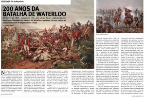 200 anos de Waterloo_Leituras da História junho2015