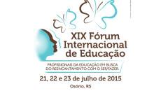 Estarei participando do Conversas Literárias, no XIX Fórum Internacional da Educação, em […]