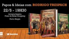 Noite de bate-papo e sessão de autógrafos com Rodrigo Trespach, em Porto […]