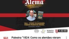 Hoje foi dia de falar sobre Imigração Alemã no Brasil em evento […]